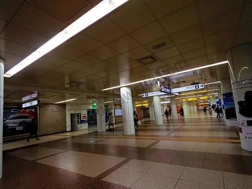 仙台駅東西地下自由通路