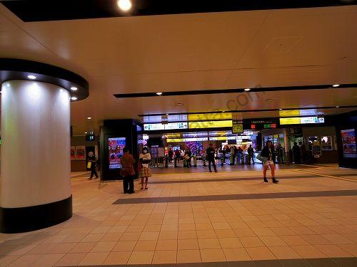 JR仙台駅の中央口改札