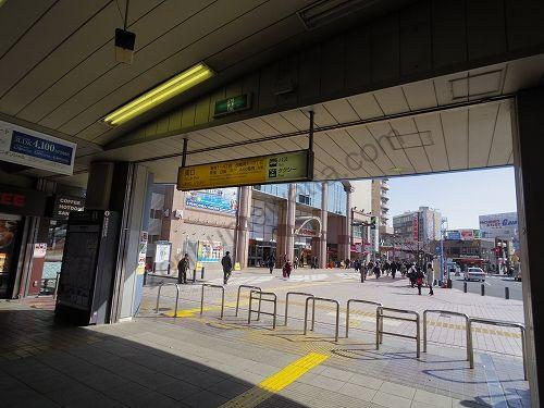 亀有駅南口へ