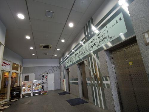 ラットタット JR札幌駅前店が入っている札幌TRビルのエレベーター
