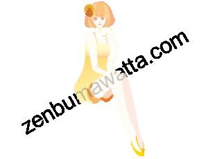 綺麗な足をしている女性