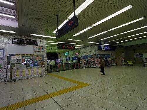 東武宇都宮駅の改札