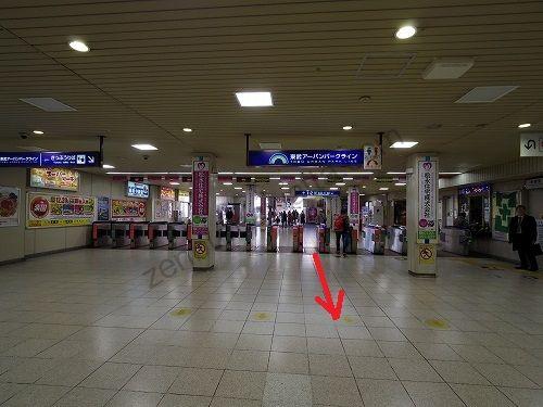 東武野田線(東武アーバンパークライン)大宮駅改札
