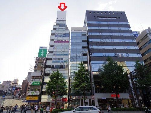 ラットタット難波駅前店の入っているヤシマ御堂筋ビル