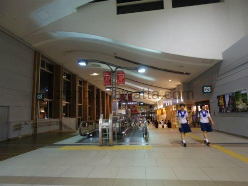 JR秋田駅構内