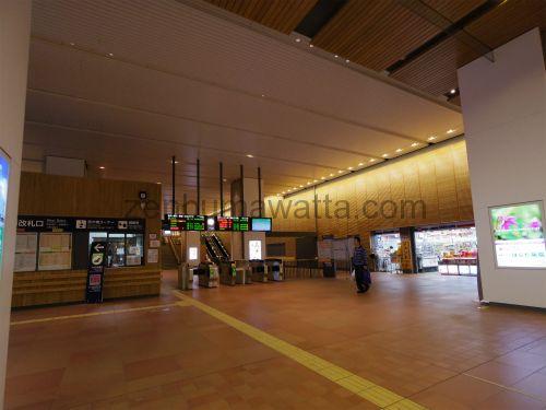 JR旭川駅西改札口
