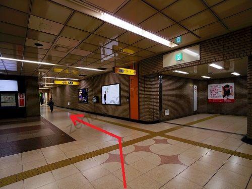 地下鉄南北線・東西線 仙台駅の南改札を出たら南2出口へ