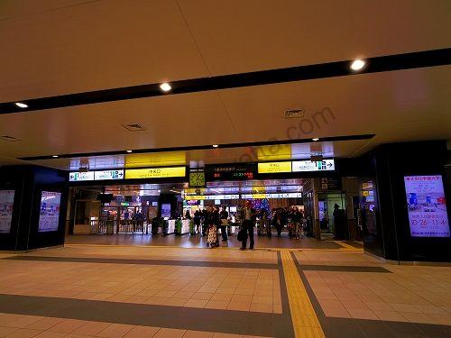 JR仙台駅中央口改札