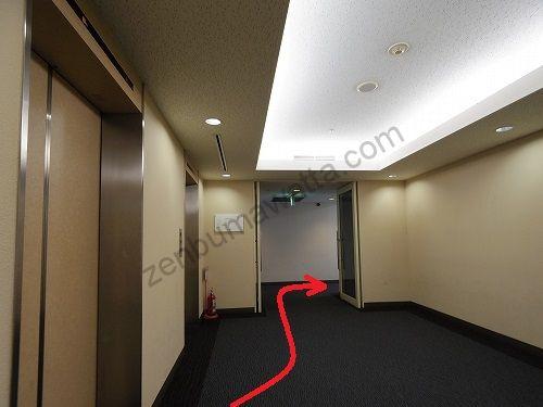 グランモア梅田店は7階にあります