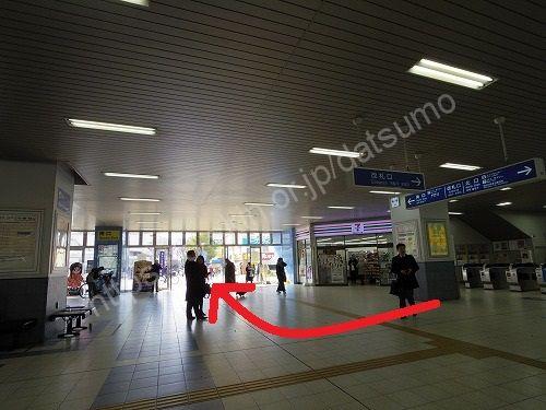 加古川駅の改札