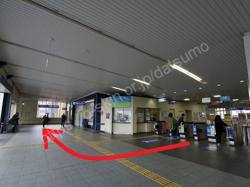 JR加古川駅の改札