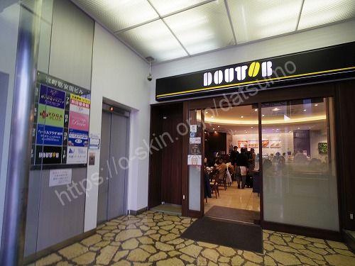 京町筋安田ビルのエレベーター前