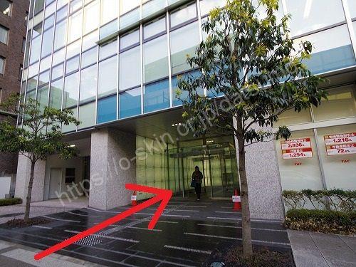 オリックス神戸三宮ビル入口