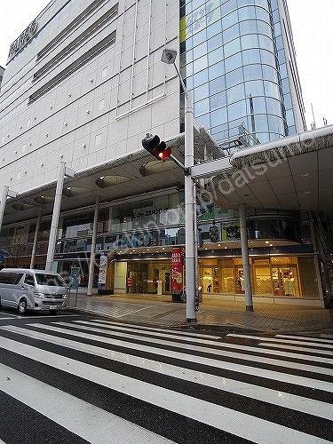 広島パルコ新館の入口