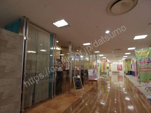 ラココ福山店の入口