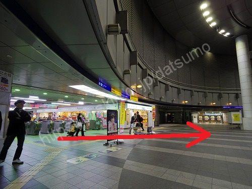 小倉駅3階の改札