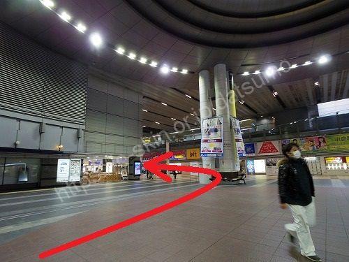 JR小倉駅3階