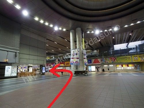小倉駅の3階