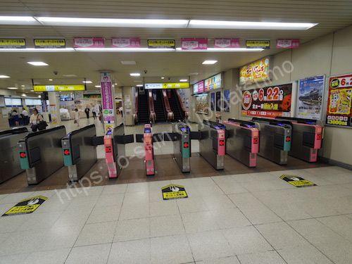 東武大宮駅改札