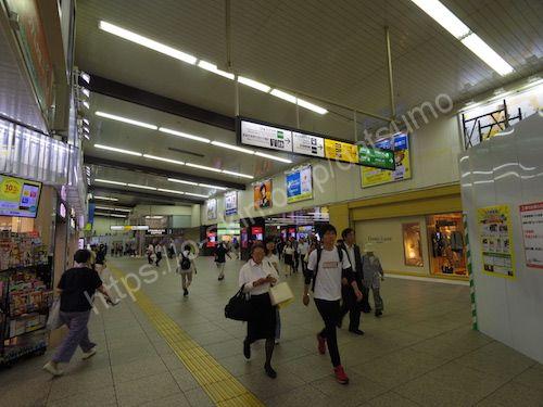 JR大宮駅へ
