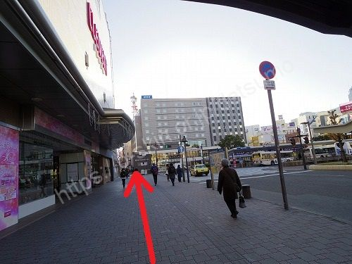 徳島駅前ロータリー