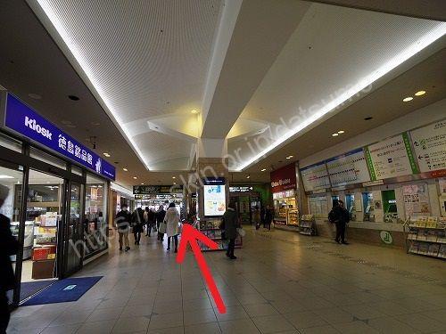 徳島駅構内
