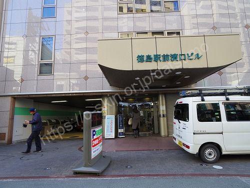 徳島駅前濱口ビル入口