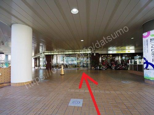 そごう徳島店の入口