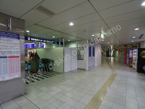 西鉄福岡天神駅