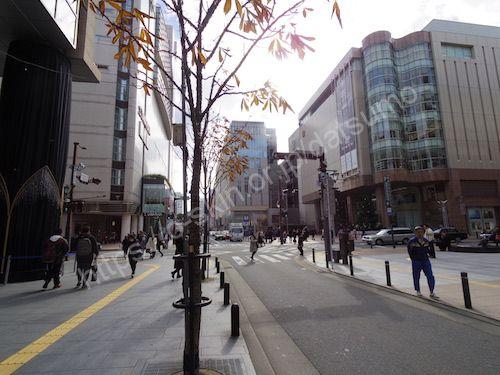 きらめき通り中央交差点